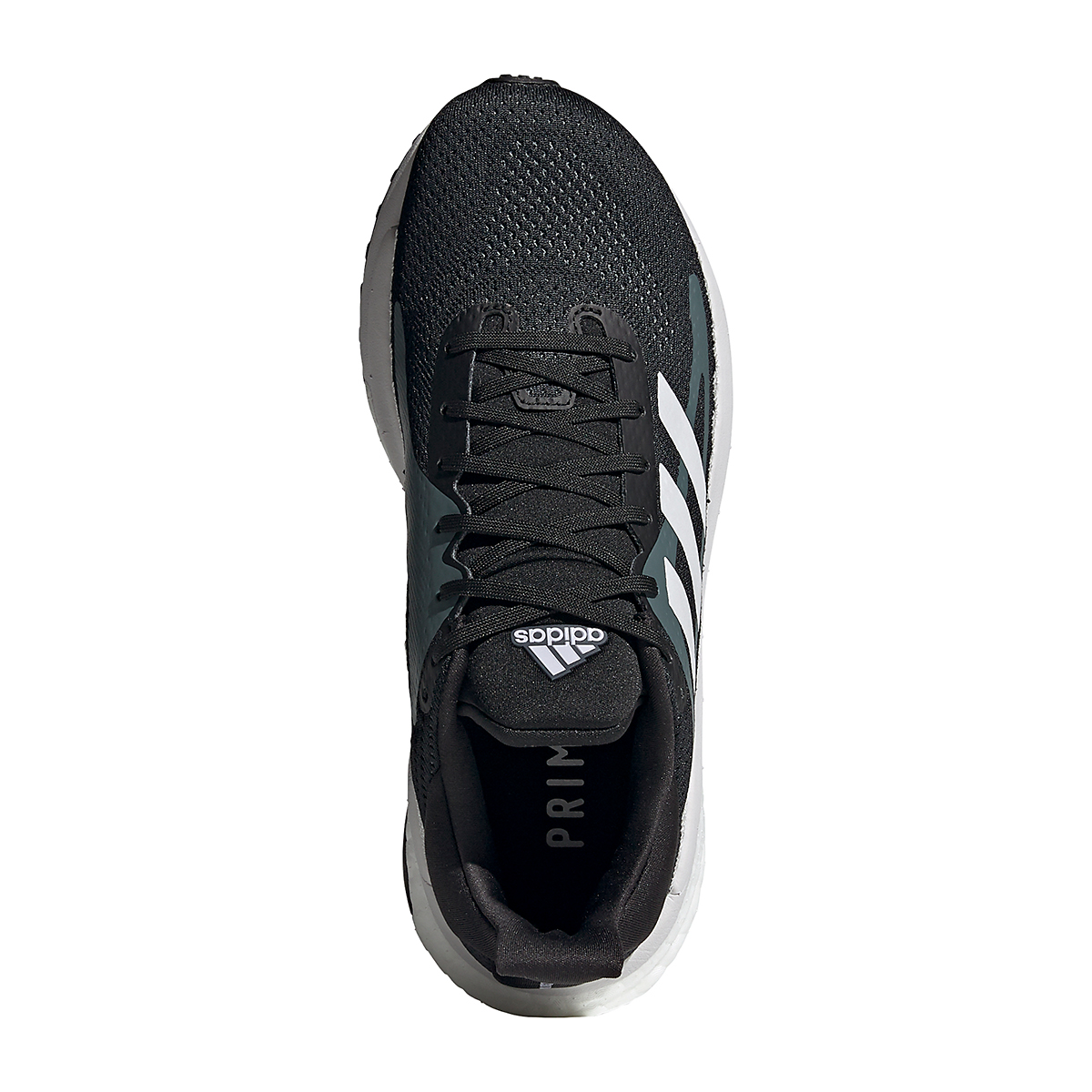 Women's Adidas Solar Glide ST 3 Running Shoe - Color: Core Black - Size: 5 - Width: Regular, Core Black, large, image 6