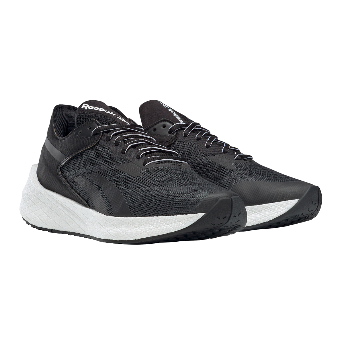 Women's Reebok Floatride Energy Symmetros Running Shoe - Color: Black/Cold Grey/Cool Shadow - Size: 6 - Width: Regular, Black/Cold Grey/Cool Shadow, large, image 3