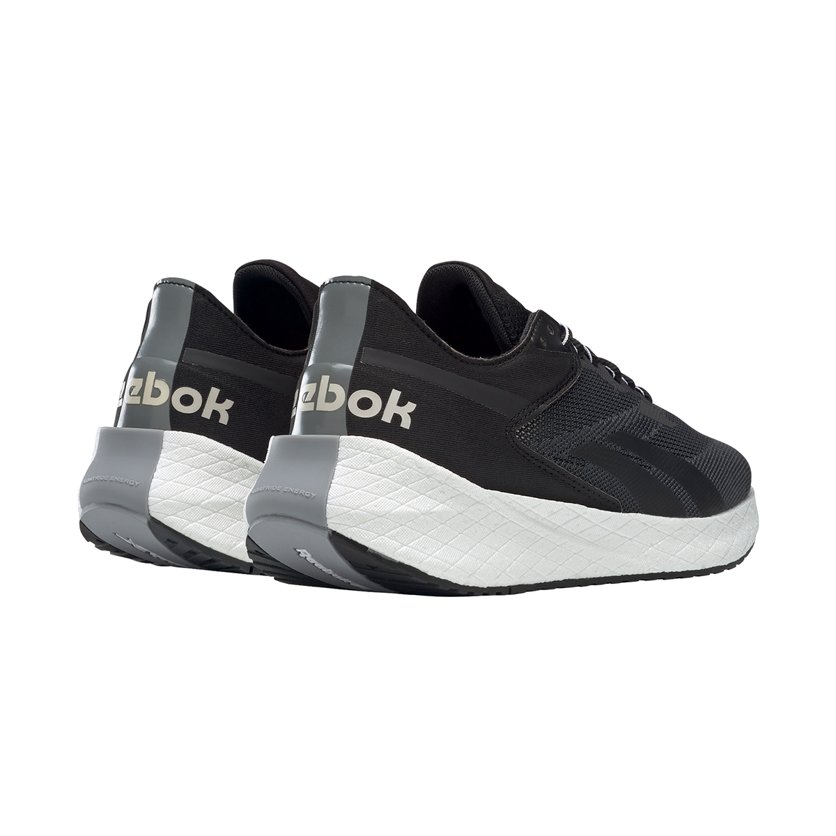 Women's Reebok Floatride Energy Symmetros Running Shoe - Color: Black/Cold Grey/Cool Shadow - Size: 6 - Width: Regular, Black/Cold Grey/Cool Shadow, large, image 4