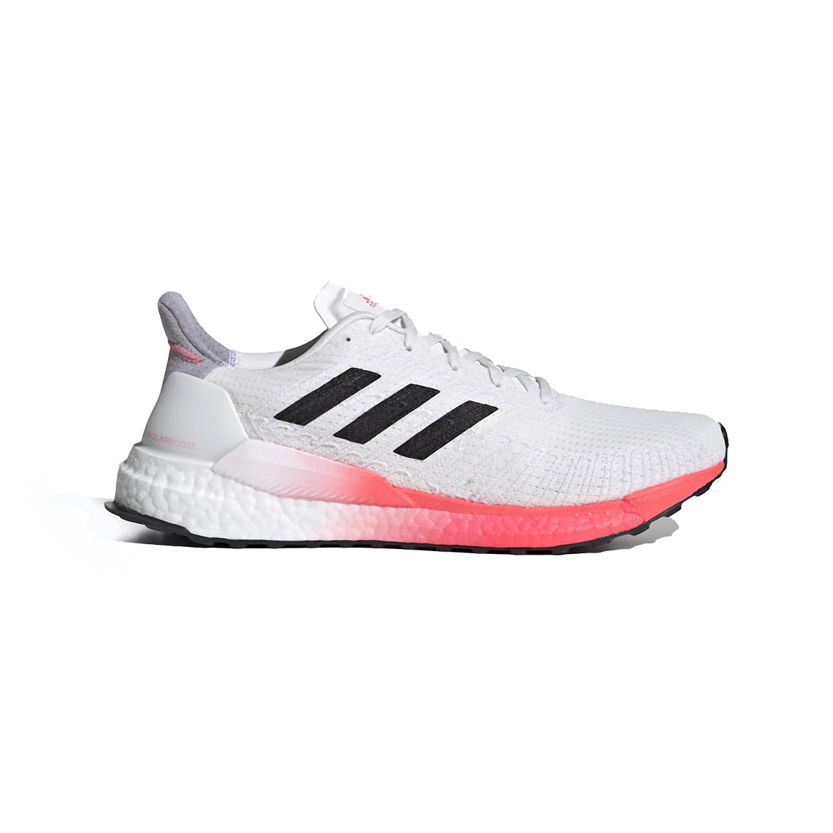 Men's Adidas SolarBOOST 19 Running Shoe - Color: Crystal White/Core Black/Copper Metallic - Size: 6.5 - Width: Regular, Crystal White/Core Black/Copper Metallic, large, image 1