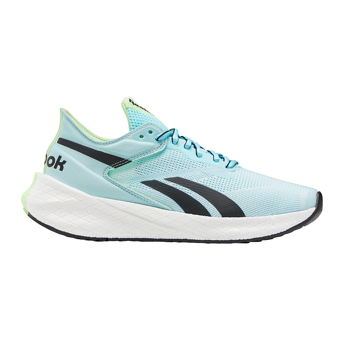 Women's Reebok Floatride Energy Symmetros Running Shoe - Color: Digital Glow/Chalk Blue/Neon Mint - Size: 6 - Width: Regular, Digital Glow/Chalk Blue/Neon Mint, large, image 1