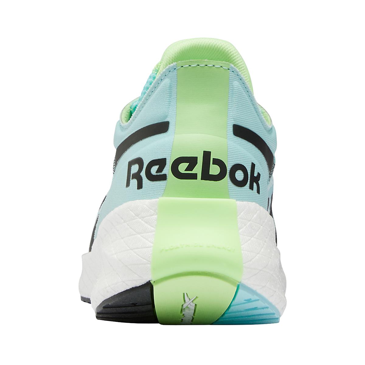 Women's Reebok Floatride Energy Symmetros Running Shoe - Color: Digital Glow/Chalk Blue/Neon Mint - Size: 6 - Width: Regular, Digital Glow/Chalk Blue/Neon Mint, large, image 5