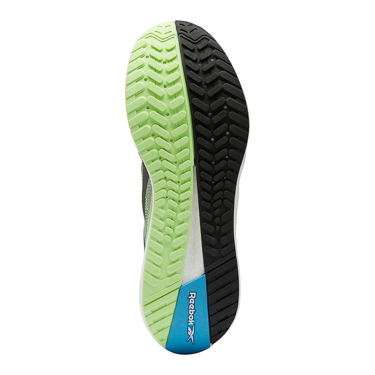 Men's Reebok Floatride Energy Symmetros Running Shoe - Color: Neon Mint/Core Black/White - Size: 7 - Width: Regular, Neon Mint/Core Black/White, large, image 3