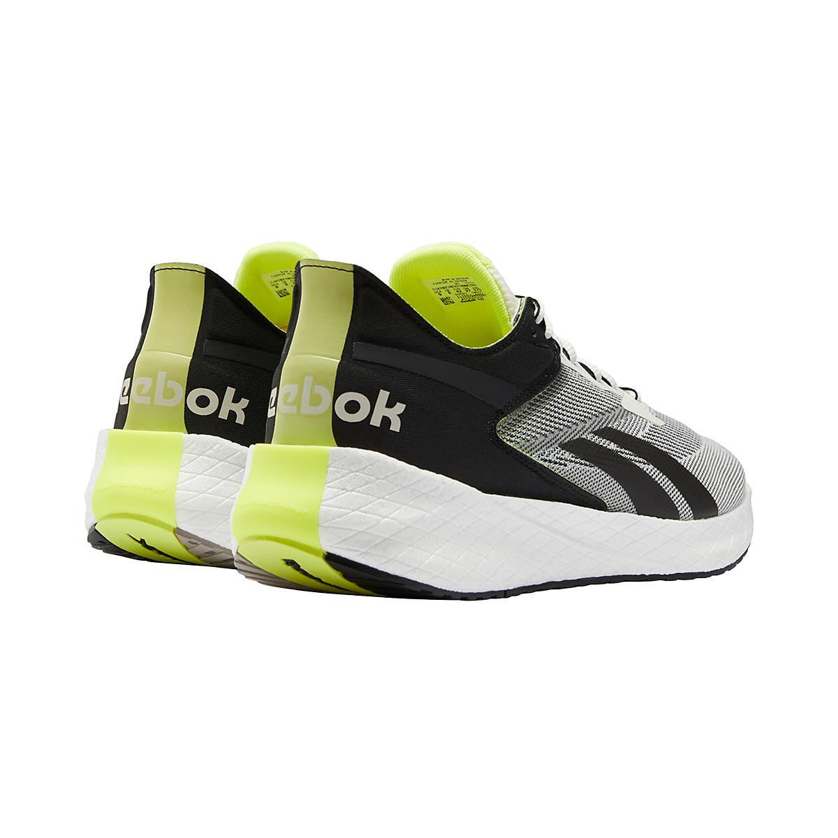 Men's Reebok Floatride Energy Symmetros Running Shoe - Color: Classic White/Core Black/Yellow Flare - Size: 7 - Width: Regular, Classic White/Core Black/Yellow Flare, large, image 5