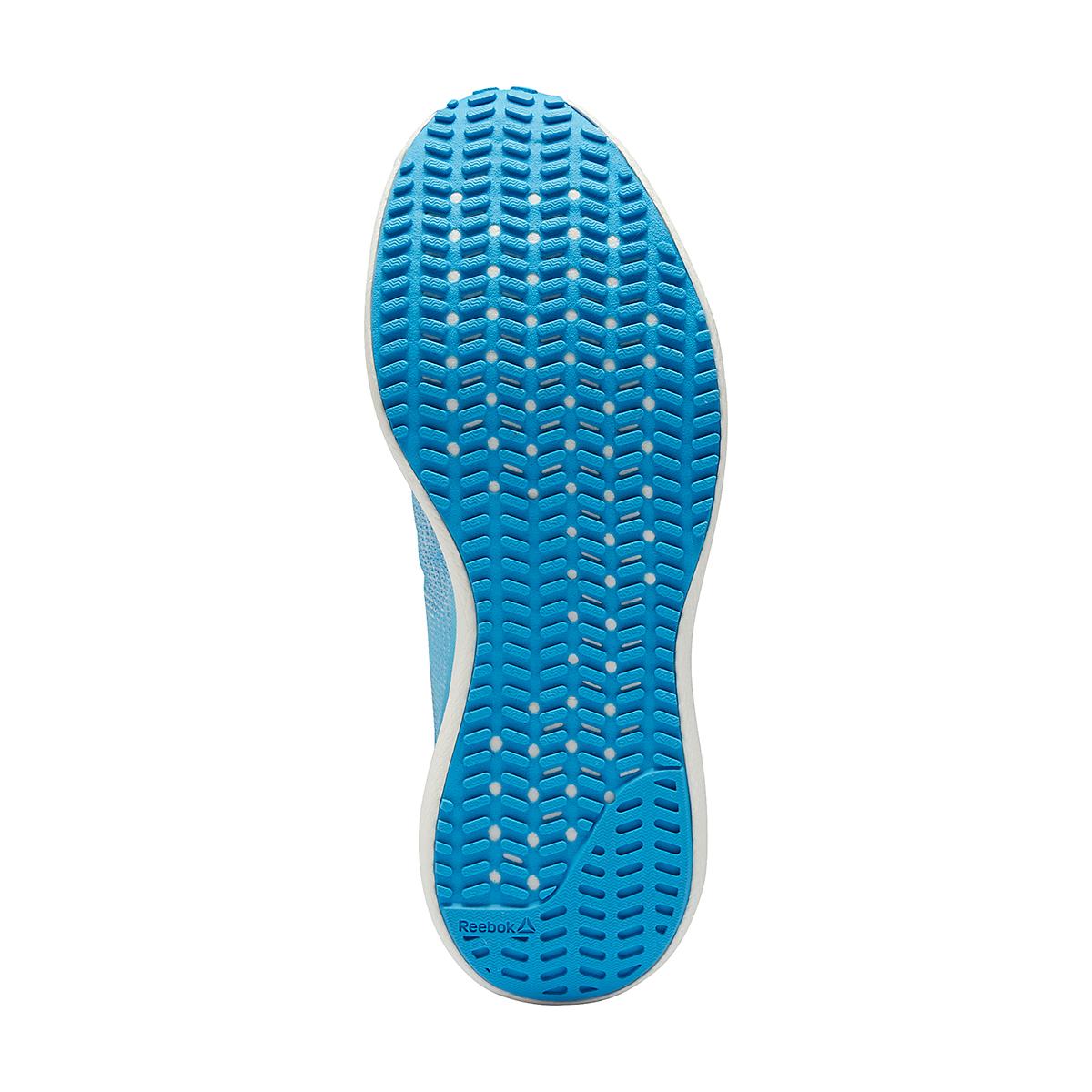 Women's Reebok Floatride Run Fast 3.0 Running Shoe - Color: Radiant Aqua /Orange Flare /White - Size: 5 - Width: Regular, Radiant Aqua /Orange Flare /White, large, image 3