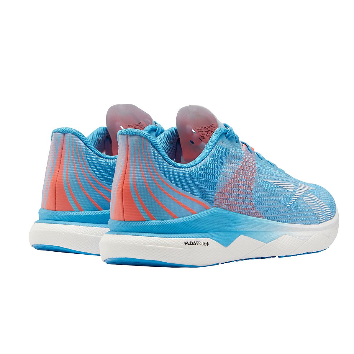 Women's Reebok Floatride Run Fast 3.0 Running Shoe - Color: Radiant Aqua /Orange Flare /White - Size: 5 - Width: Regular, Radiant Aqua /Orange Flare /White, large, image 4
