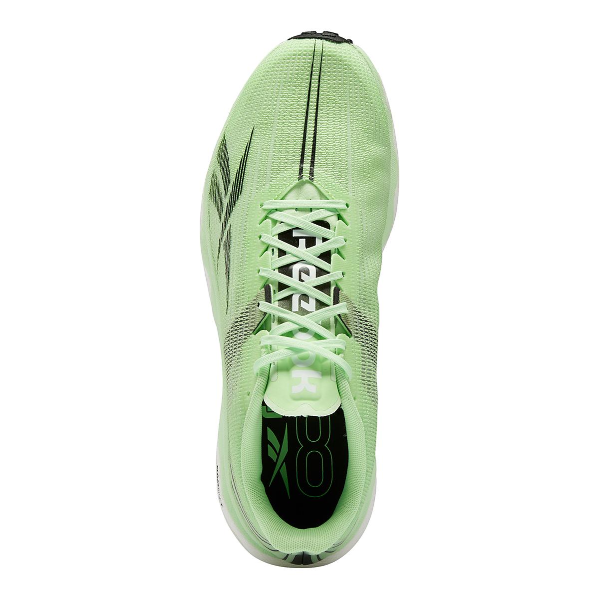 Men's Reebok Floatride Run Fast 3.0 Running Shoe - Color: Neon Mint/White/Core Black - Size: 7 - Width: Regular, Neon Mint/White/Core Black, large, image 6