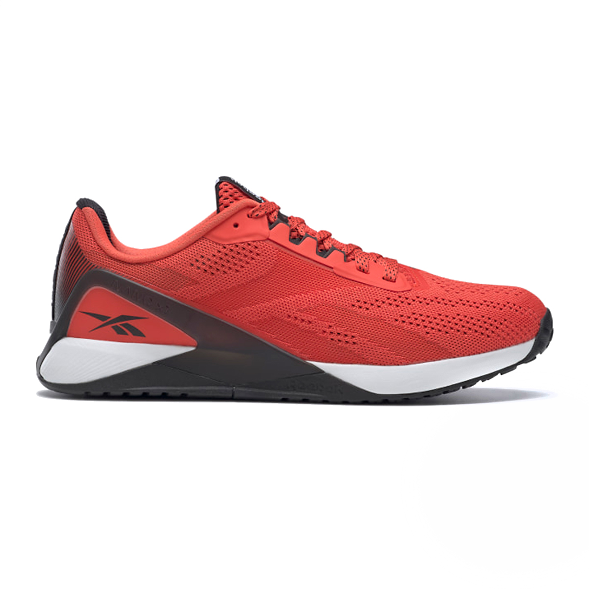 Men's Reebok Nano X1 Training Shoe - Color: Dynamic Red/White/Black - Size: 7 - Width: Regular, Dynamic Red/White/Black, large, image 1