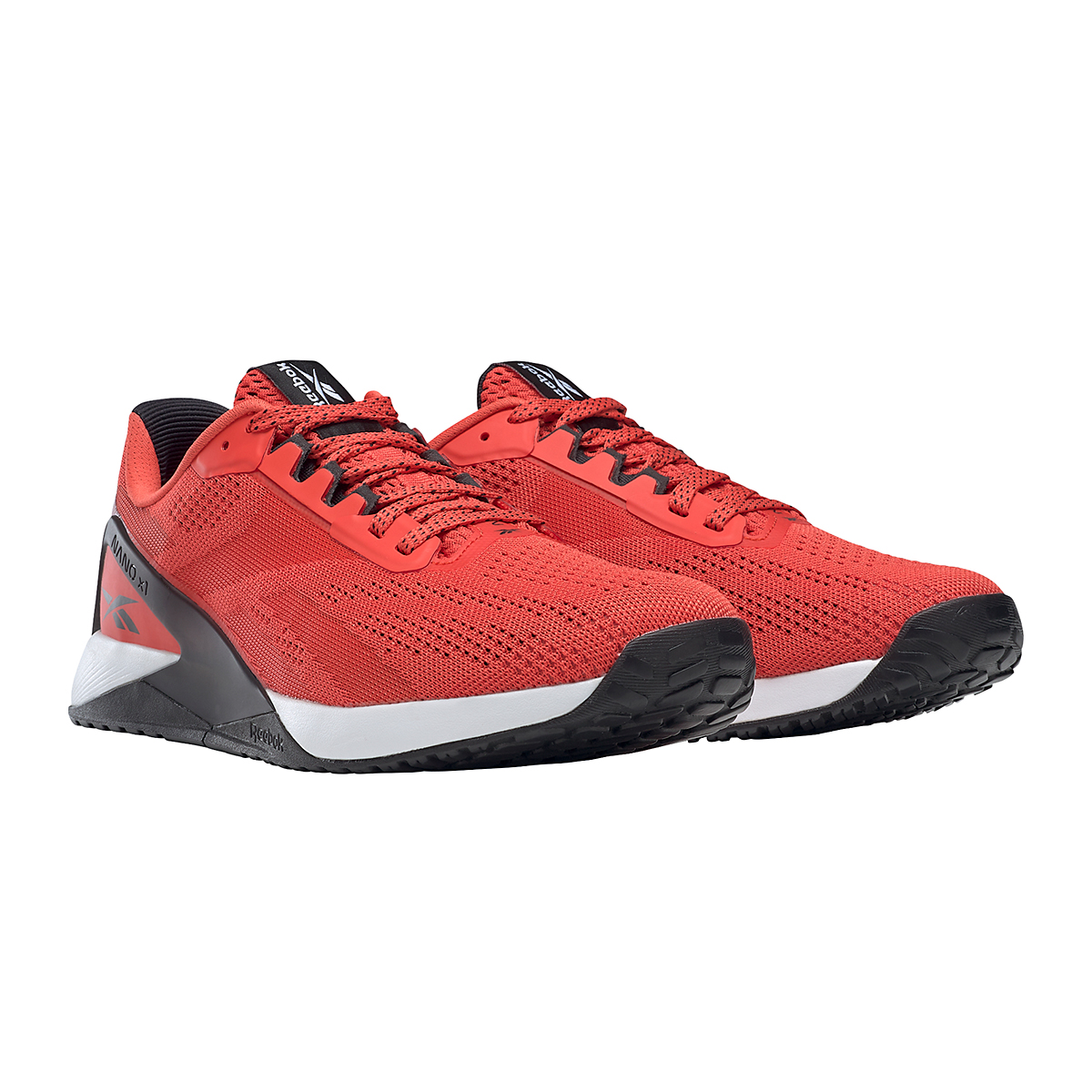 Men's Reebok Nano X1 Training Shoe - Color: Dynamic Red/White/Black - Size: 6.5 - Width: Regular, Dynamic Red/White/Black, large, image 5