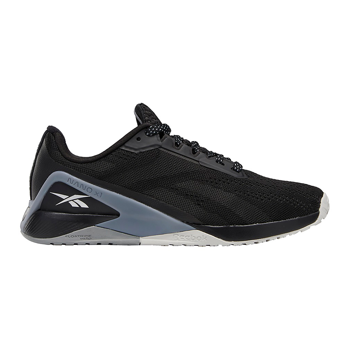 Women's Reebok Nano X1 Training Shoe - Color: Black/Cool Shadow/Cold Grey - Size: 5 - Width: Regular, Black/Cool Shadow/Cold Grey, large, image 1
