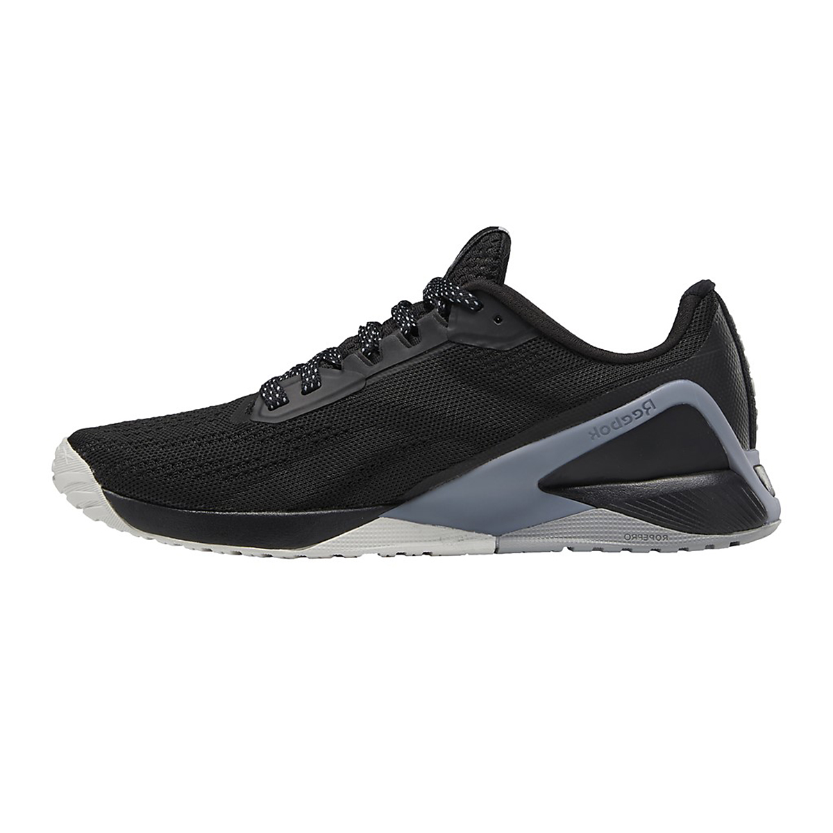 Women's Reebok Nano X1 Training Shoe - Color: Black/Cool Shadow/Cold Grey - Size: 5 - Width: Regular, Black/Cool Shadow/Cold Grey, large, image 2