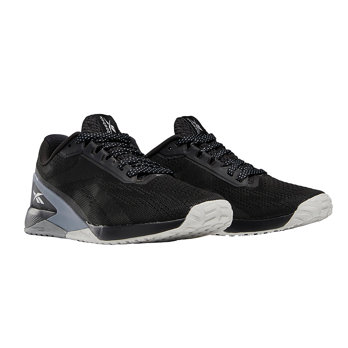 Women's Reebok Nano X1 Training Shoe - Color: Black/Cool Shadow/Cold Grey - Size: 5 - Width: Regular, Black/Cool Shadow/Cold Grey, large, image 3