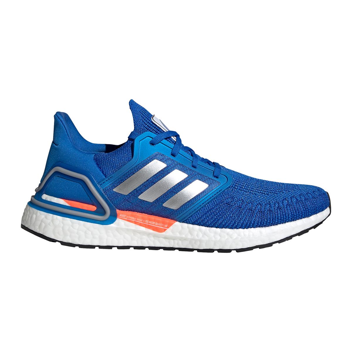 Men's Adidas Ultraboost 20 Running Shoe - Color: Football Blue - Size: 5 - Width: Regular, Football Blue, large, image 1