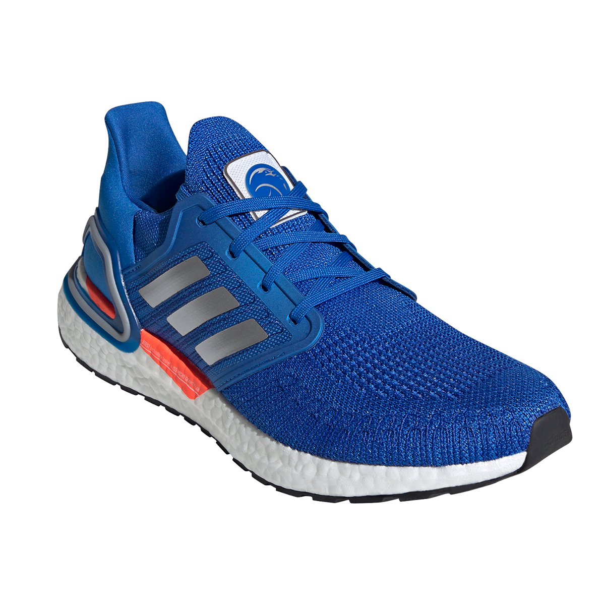 Men's Adidas Ultraboost 20 Running Shoe - Color: Football Blue - Size: 5 - Width: Regular, Football Blue, large, image 2