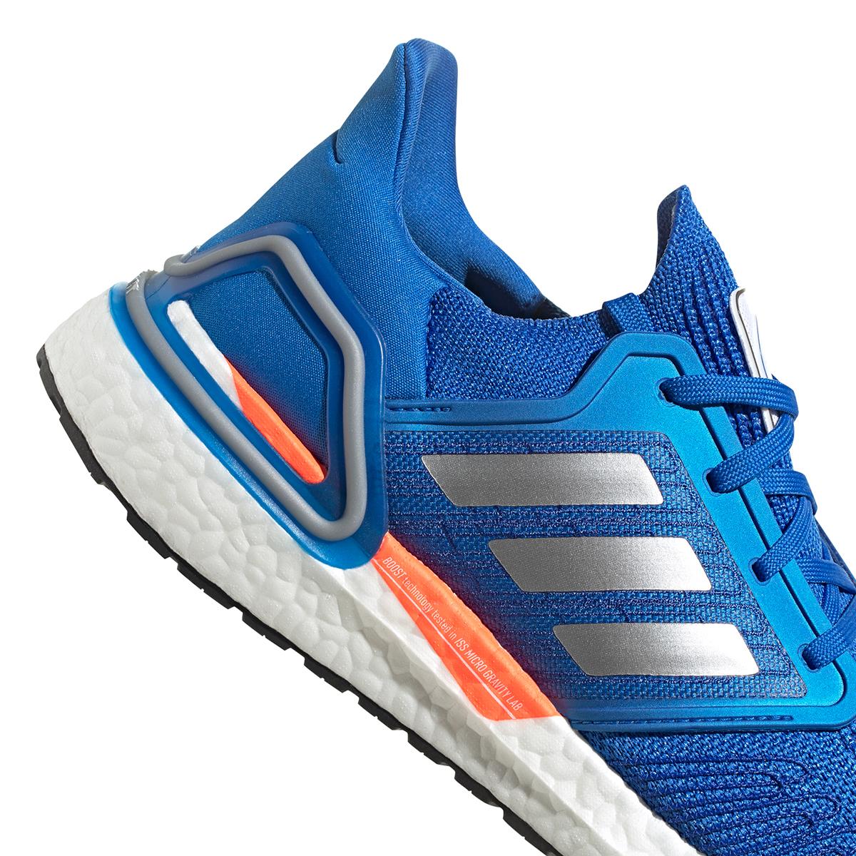 Men's Adidas Ultraboost 20 Running Shoe - Color: Football Blue - Size: 5 - Width: Regular, Football Blue, large, image 4