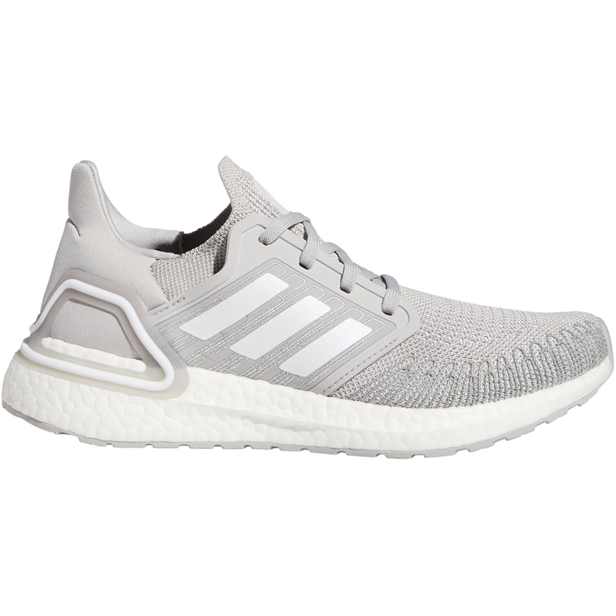 Women's Adidas Ultraboost 20 Running Shoe - Color: Grey - Size: 5 - Width: Regular, Grey, large, image 1