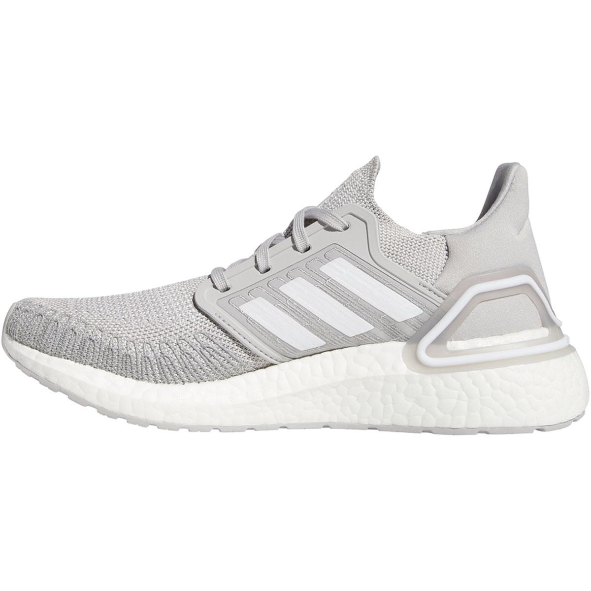 Women's Adidas Ultraboost 20 Running Shoe - Color: Grey - Size: 5 - Width: Regular, Grey, large, image 2