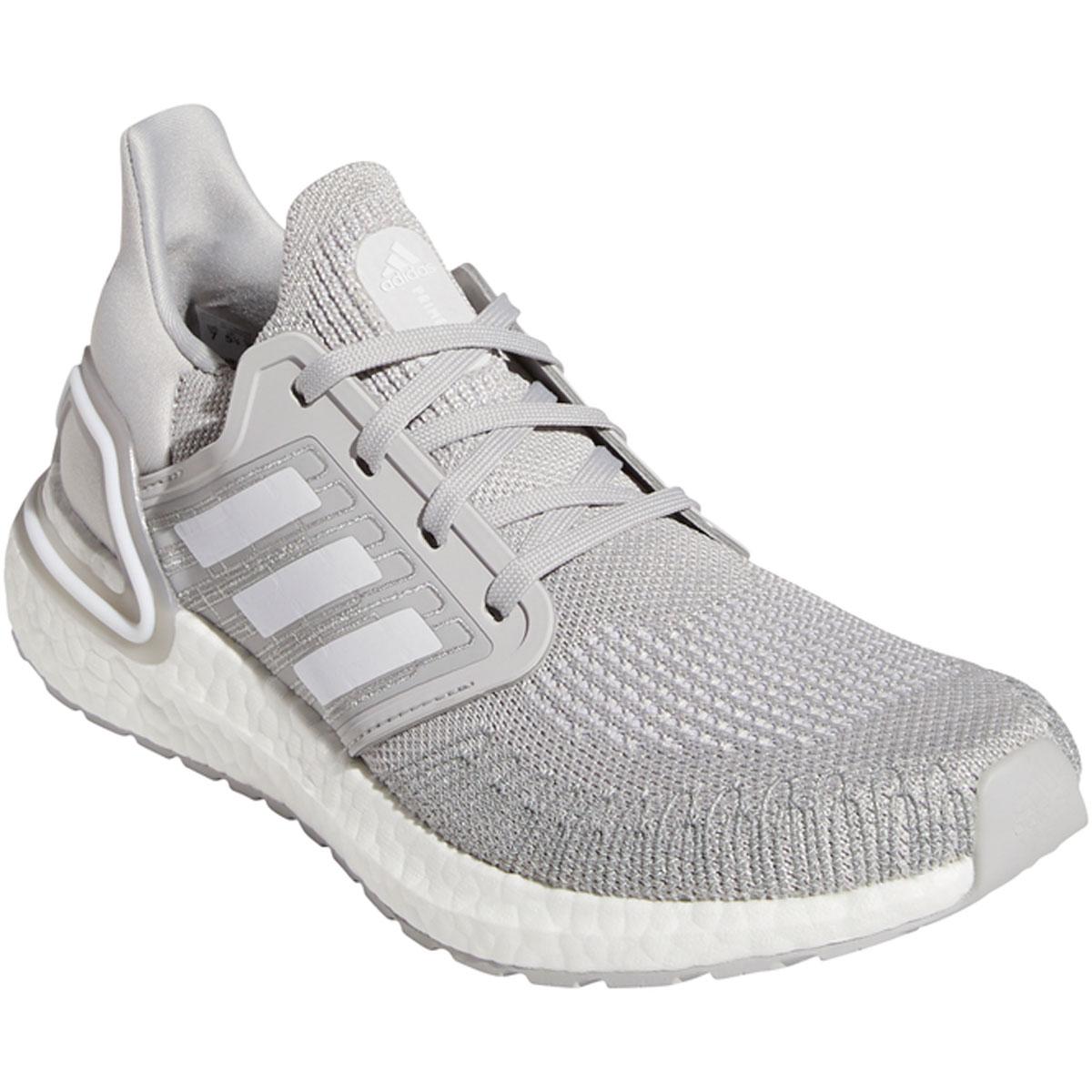 Women's Adidas Ultraboost 20 Running Shoe - Color: Grey - Size: 5 - Width: Regular, Grey, large, image 3