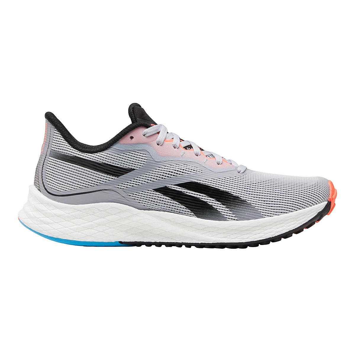 Women's Reebok Floatride Energy 3.0 Running Shoe - Color: Cold Grey/Core Black/Orange Flare - Size: 5 - Width: Regular, Cold Grey/Core Black/Orange Flare, large, image 1