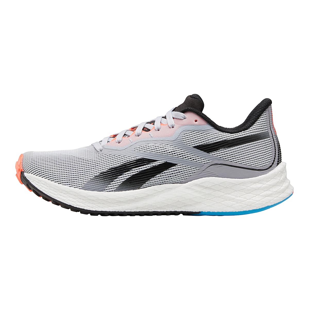 Women's Reebok Floatride Energy 3.0 Running Shoe - Color: Cold Grey/Core Black/Orange Flare - Size: 5 - Width: Regular, Cold Grey/Core Black/Orange Flare, large, image 2