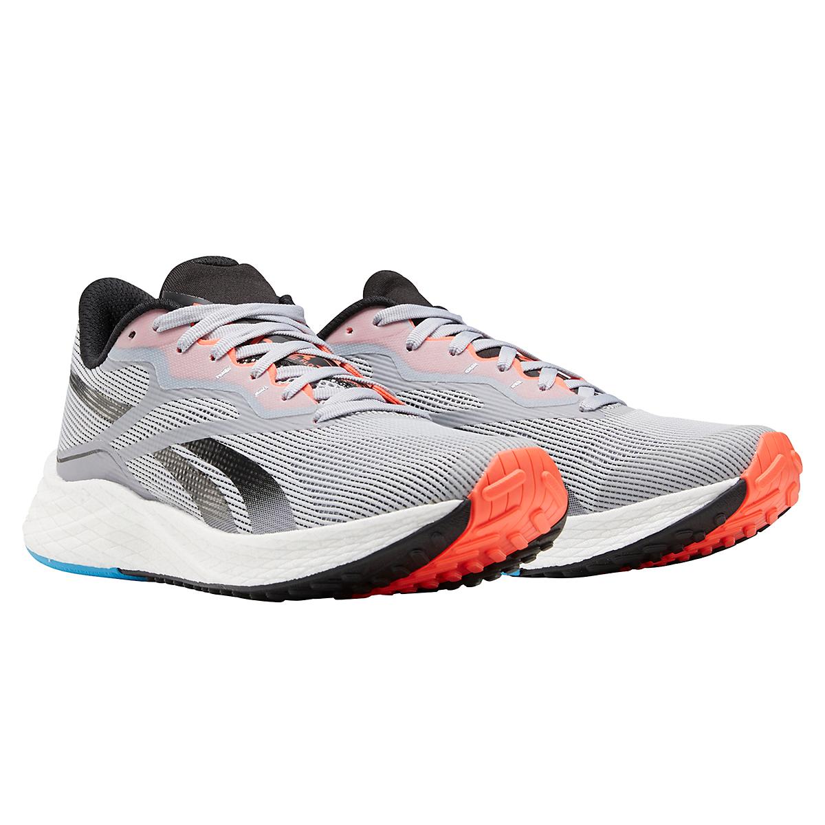 Women's Reebok Floatride Energy 3.0 Running Shoe - Color: Cold Grey/Core Black/Orange Flare - Size: 5 - Width: Regular, Cold Grey/Core Black/Orange Flare, large, image 4