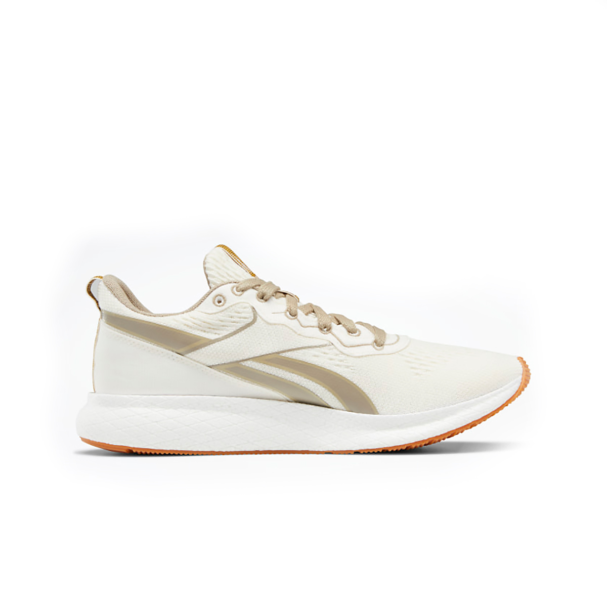 Men's Reebok Forever Floatride Grow Running Shoe - Color: Classic White/Straw/Super Neutral - Size: 8 - Width: Regular, Classic White/Straw/Super Neutral, large, image 2