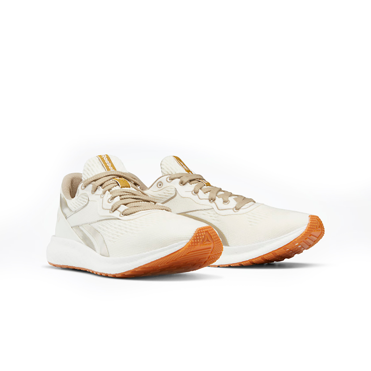 Men's Reebok Forever Floatride Grow Running Shoe - Color: Classic White/Straw/Super Neutral - Size: 8 - Width: Regular, Classic White/Straw/Super Neutral, large, image 3