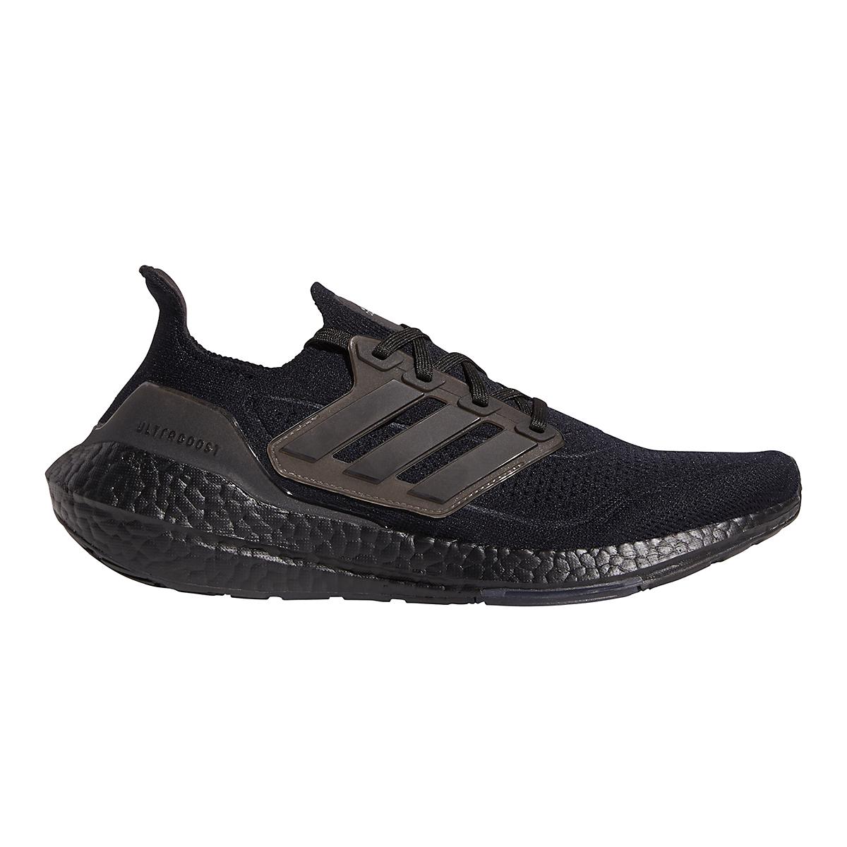 Men's Adidas Ultraboost 21 Running Shoe - Color: Core Black - Size: 5 - Width: Regular, Core Black, large, image 1