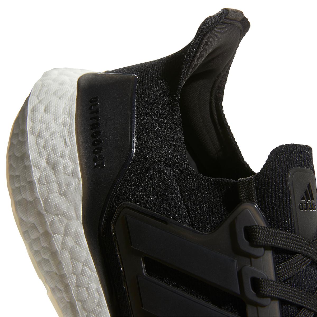 Men's Adidas Ultraboost 21 Running Shoe - Color: Core Black/Grey - Size: 6 - Width: Regular, Core Black/Grey, large, image 5