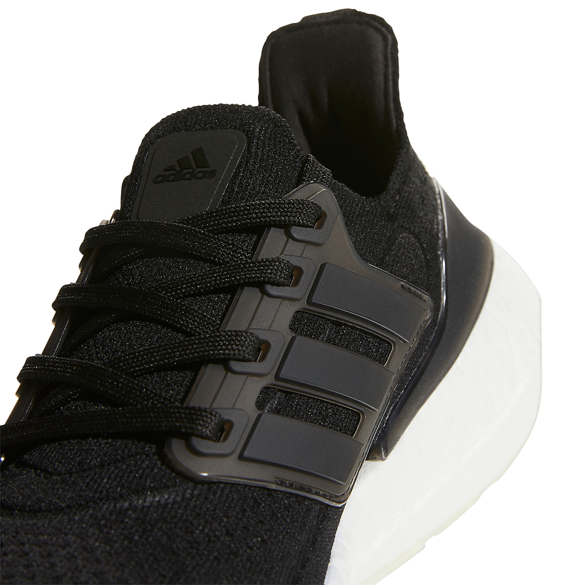 Women's Adidas Ultraboost 21 Running Shoe - Color: Core Black/Grey - Size: 5 - Width: Regular, Core Black/Grey, large, image 4