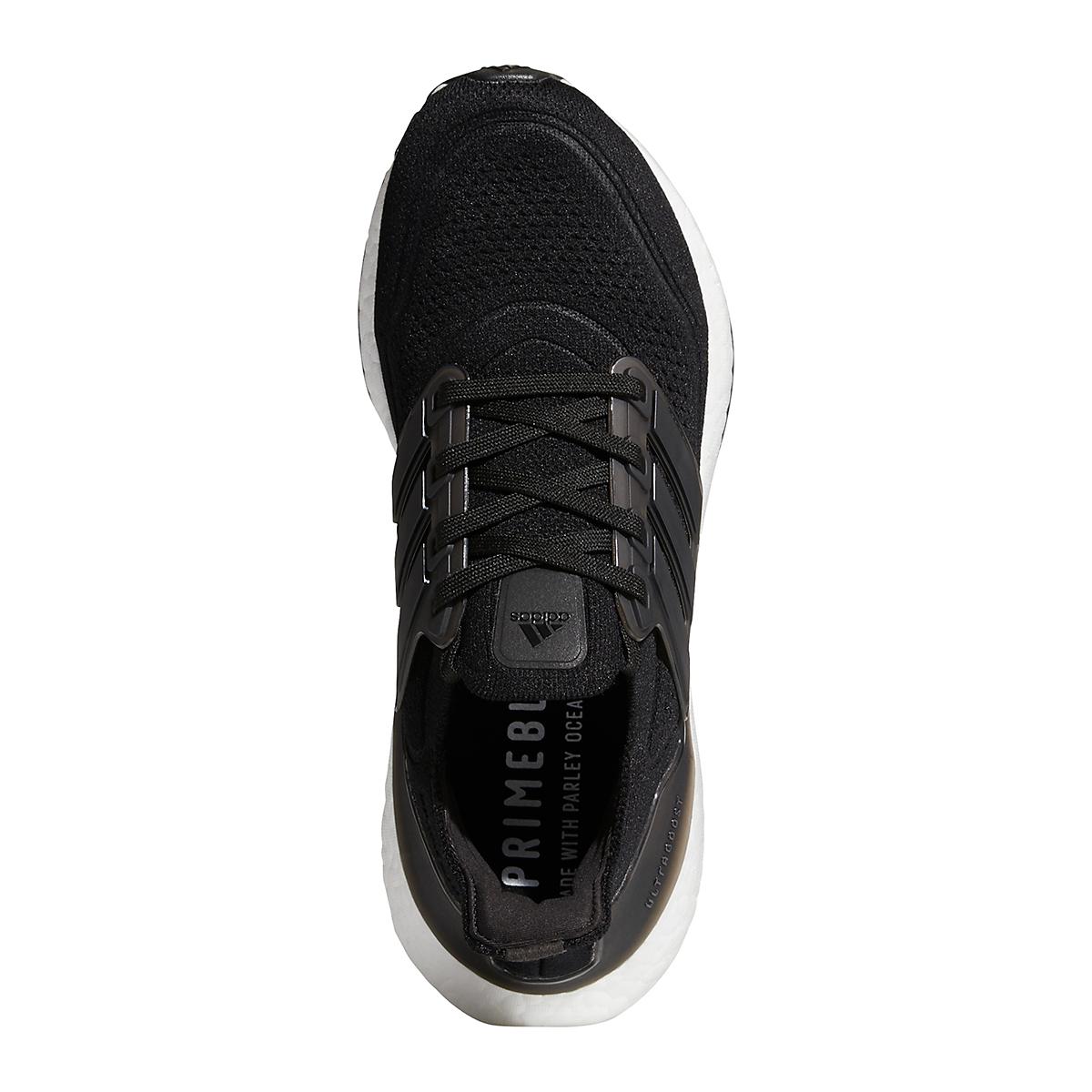 Women's Adidas Ultraboost 21 Running Shoe - Color: Core Black/Grey - Size: 5 - Width: Regular, Core Black/Grey, large, image 5