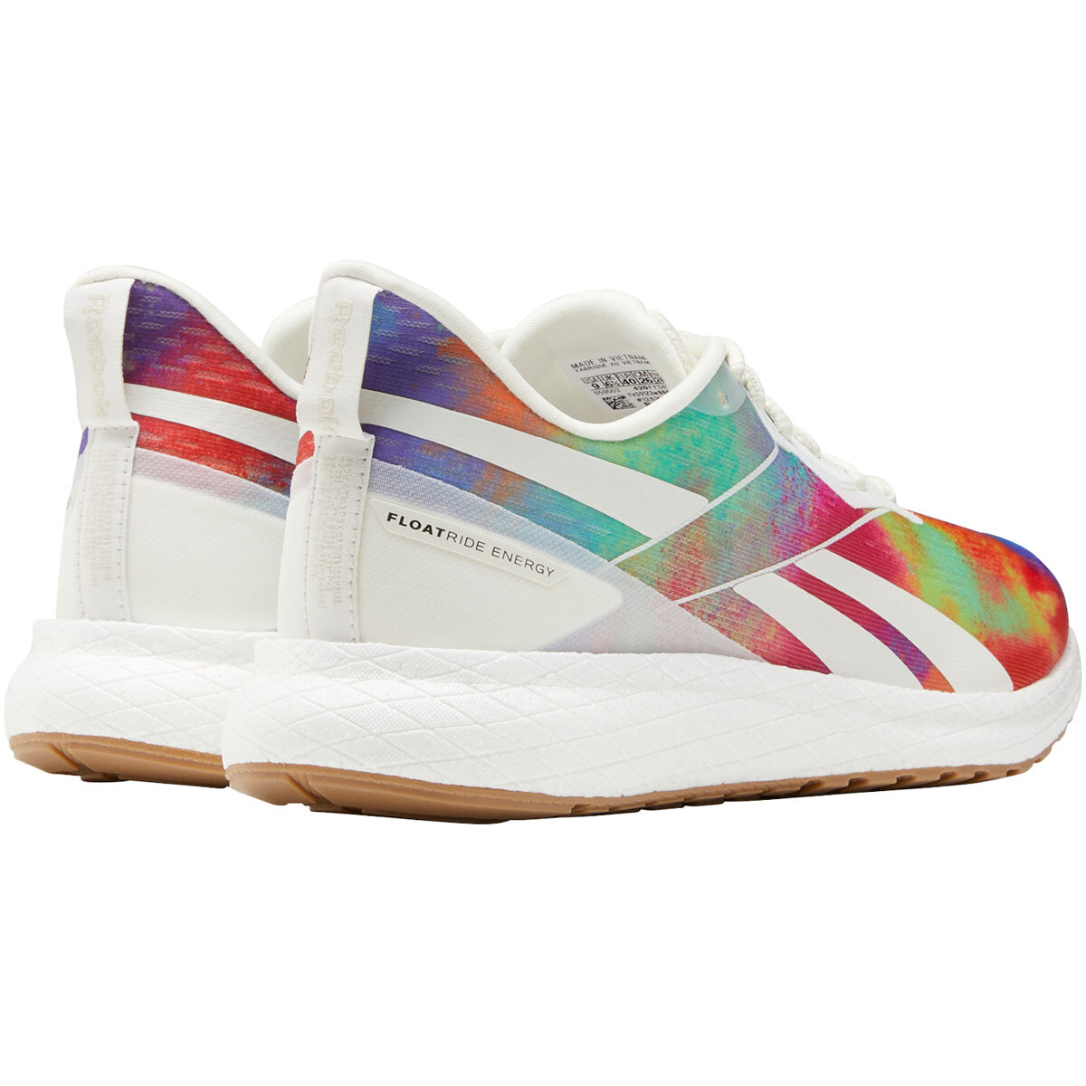 Women's Reebok Forever Floatride Energy 2.0 Running Shoe - Color: Pride - Size: 5 - Width: Regular, Pride, large, image 5