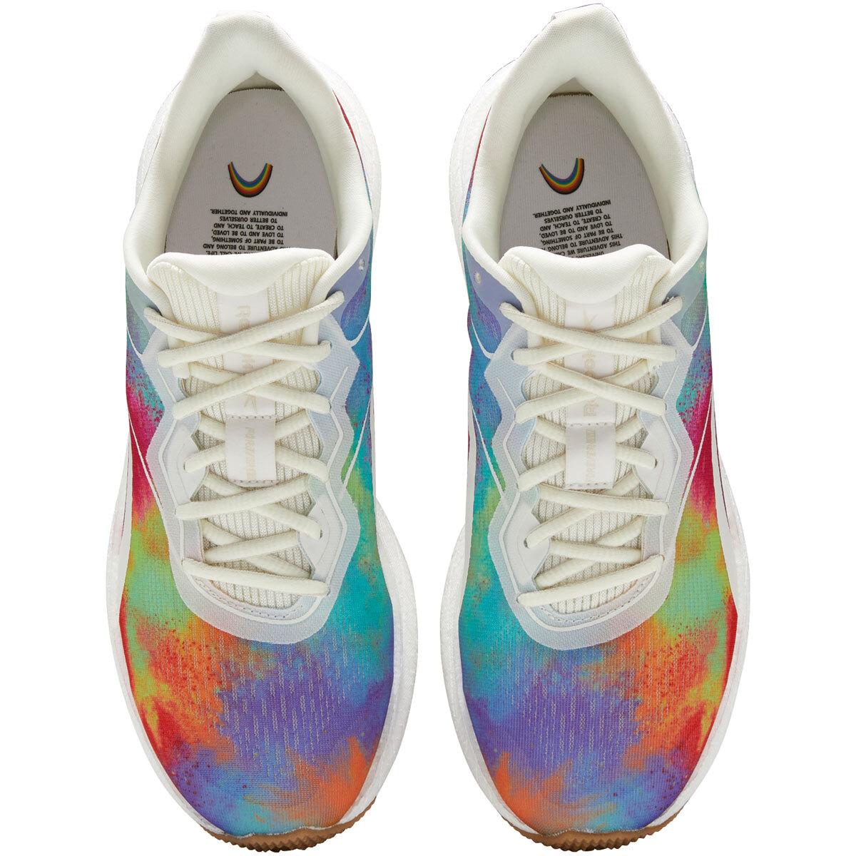 Women's Reebok Forever Floatride Energy 2.0 Running Shoe - Color: Pride - Size: 5 - Width: Regular, Pride, large, image 6