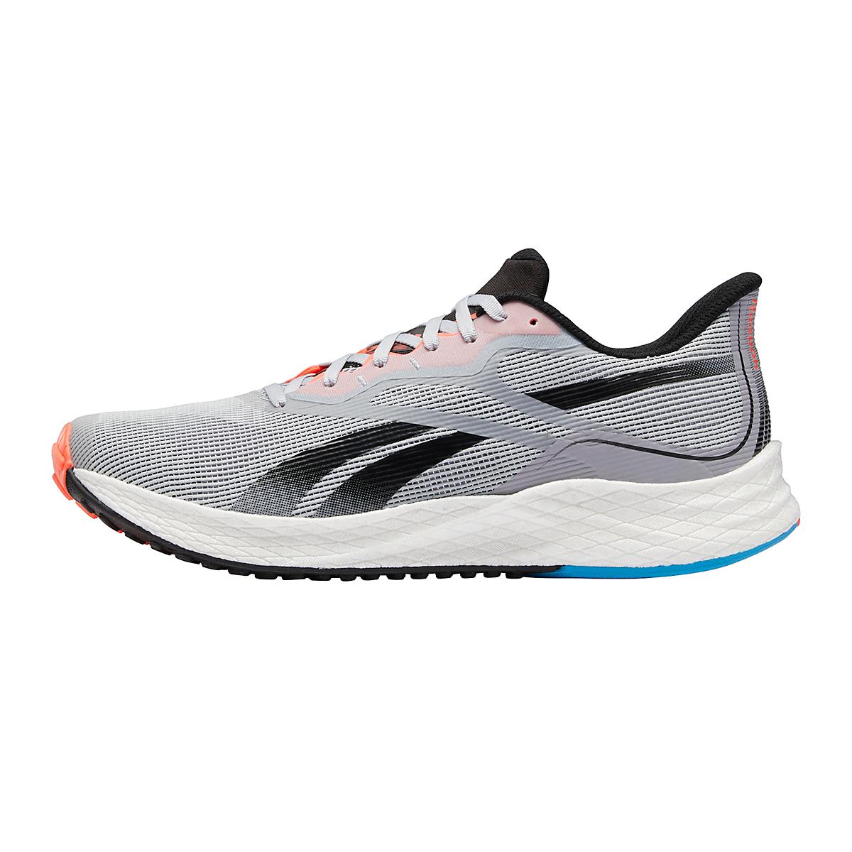 Men's Reebok Floatride Energy 3.0 Running Shoe - Color: Cold Grey/Core Black/Orange Flare - Size: 7 - Width: Regular, Cold Grey/Core Black/Orange Flare, large, image 2