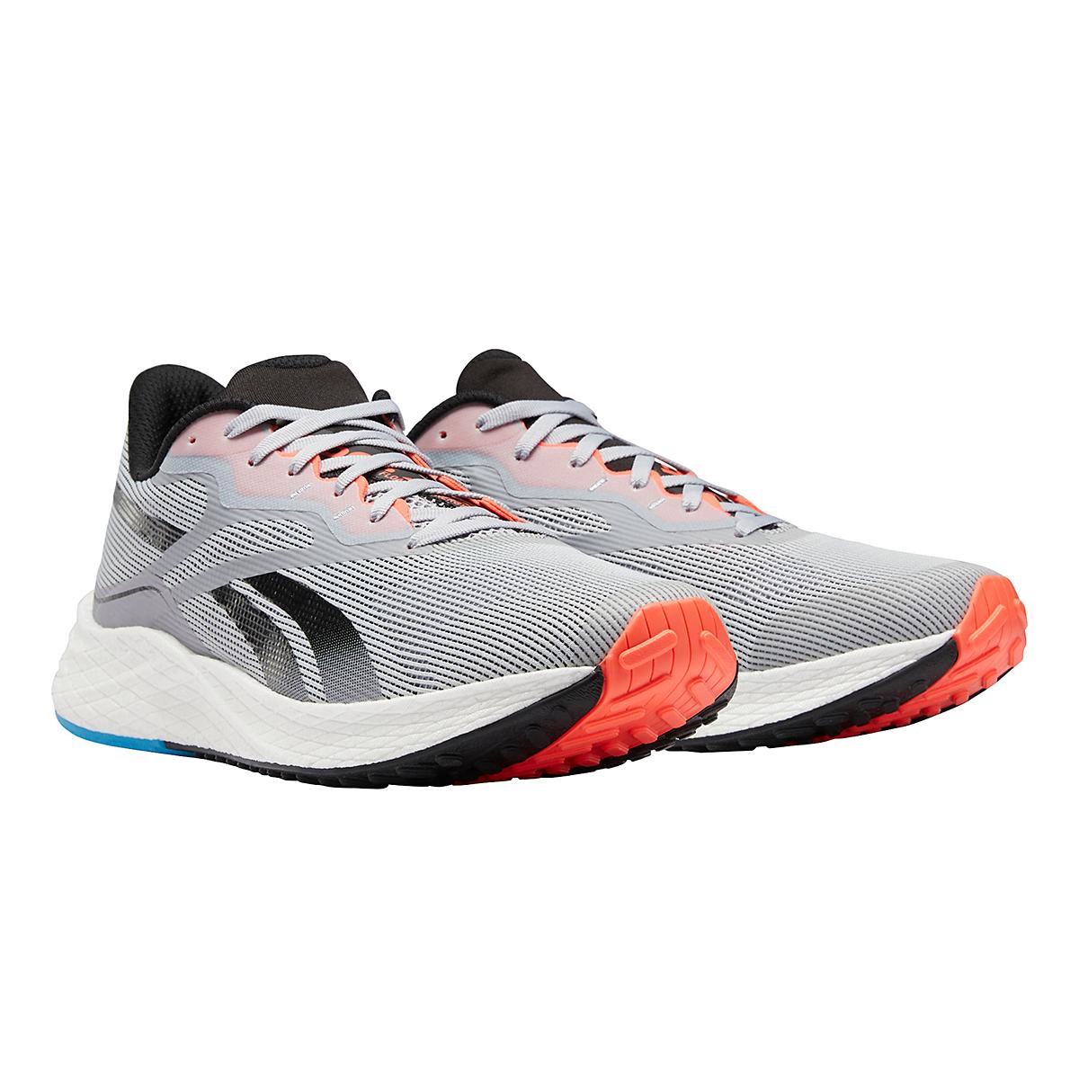 Men's Reebok Floatride Energy 3.0 Running Shoe - Color: Cold Grey/Core Black/Orange Flare - Size: 7 - Width: Regular, Cold Grey/Core Black/Orange Flare, large, image 4
