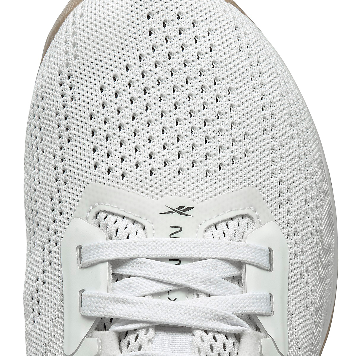 Men's Reebok Nano X1 Training Shoe - Color: White/Black/Reebok Rubber Gum - Size: 6 - Width: Regular, White/Black/Reebok Rubber Gum, large, image 4