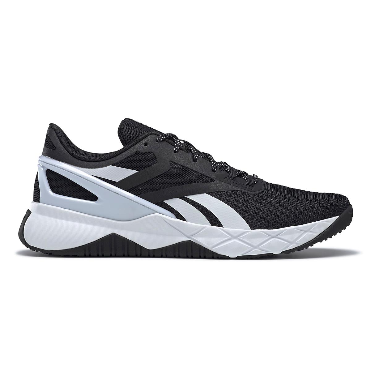 Men's Reebok Nanoflex TR Training Shoe - Color: Core Black/White/Core Black - Size: 6.5 - Width: Regular, Core Black/White/Core Black, large, image 1