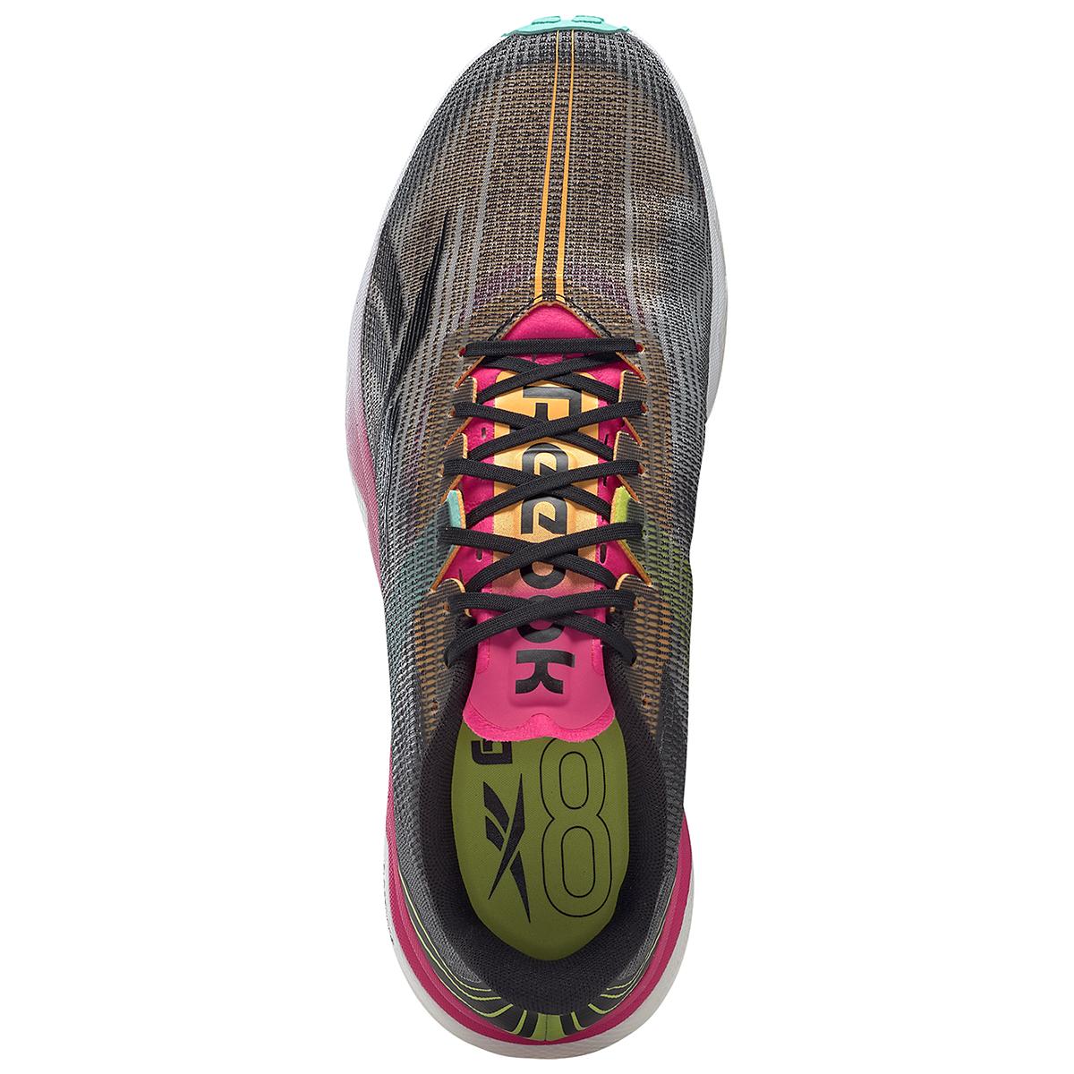 Men's Reebok Floatride Run Fast 3.0 Running Shoe - Color: Black/Purple Pink - Size: 7 - Width: Regular, Black/Purple Pink, large, image 3