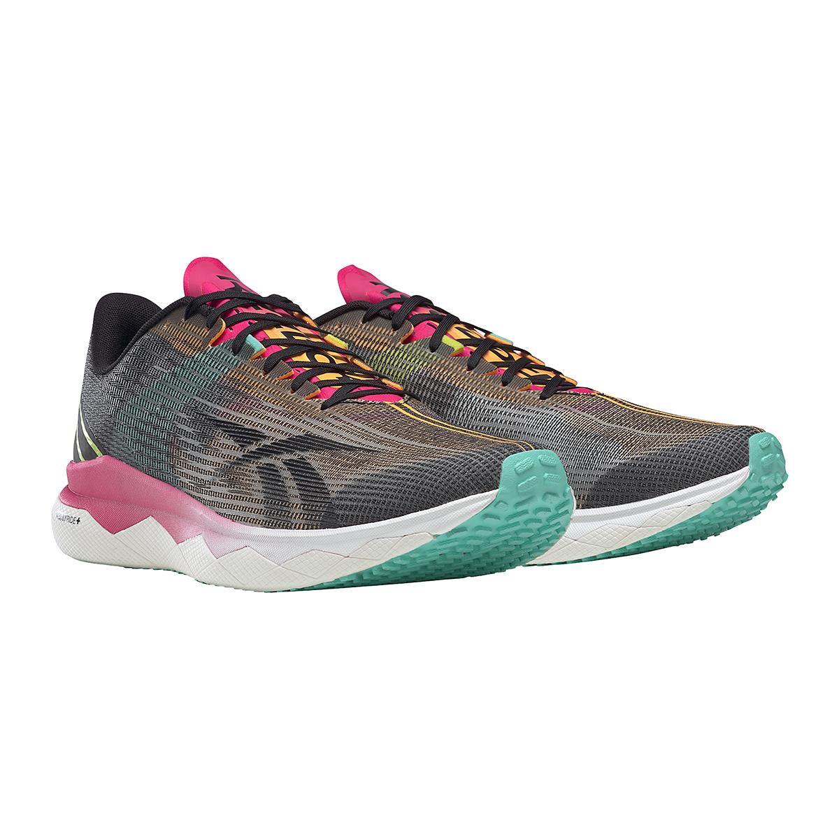 Men's Reebok Floatride Run Fast 3.0 Running Shoe - Color: Black/Purple Pink - Size: 7 - Width: Regular, Black/Purple Pink, large, image 5