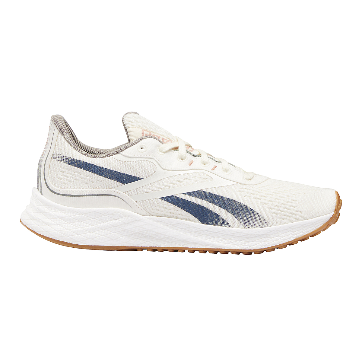 Men's Reebok Floatride Energy Grow Running Shoe - Color: Classic White/Brave Blue/Boulder Grey - Size: 7 - Width: Regular, Classic White/Brave Blue/Boulder Grey, large, image 1