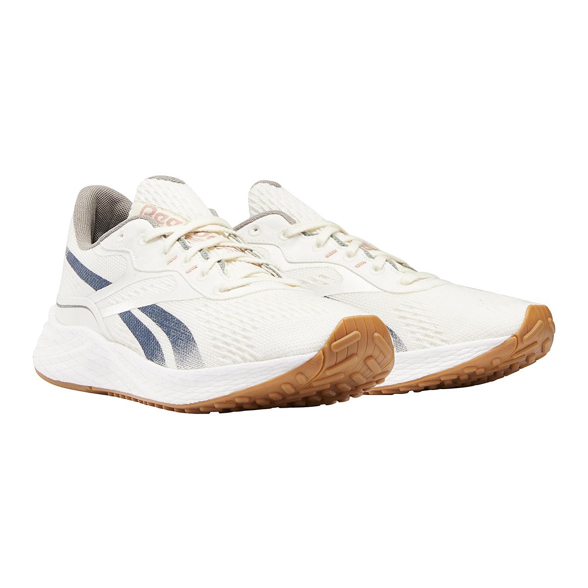 Men's Reebok Floatride Energy Grow Running Shoe - Color: Classic White/Brave Blue/Boulder Grey - Size: 7 - Width: Regular, Classic White/Brave Blue/Boulder Grey, large, image 3