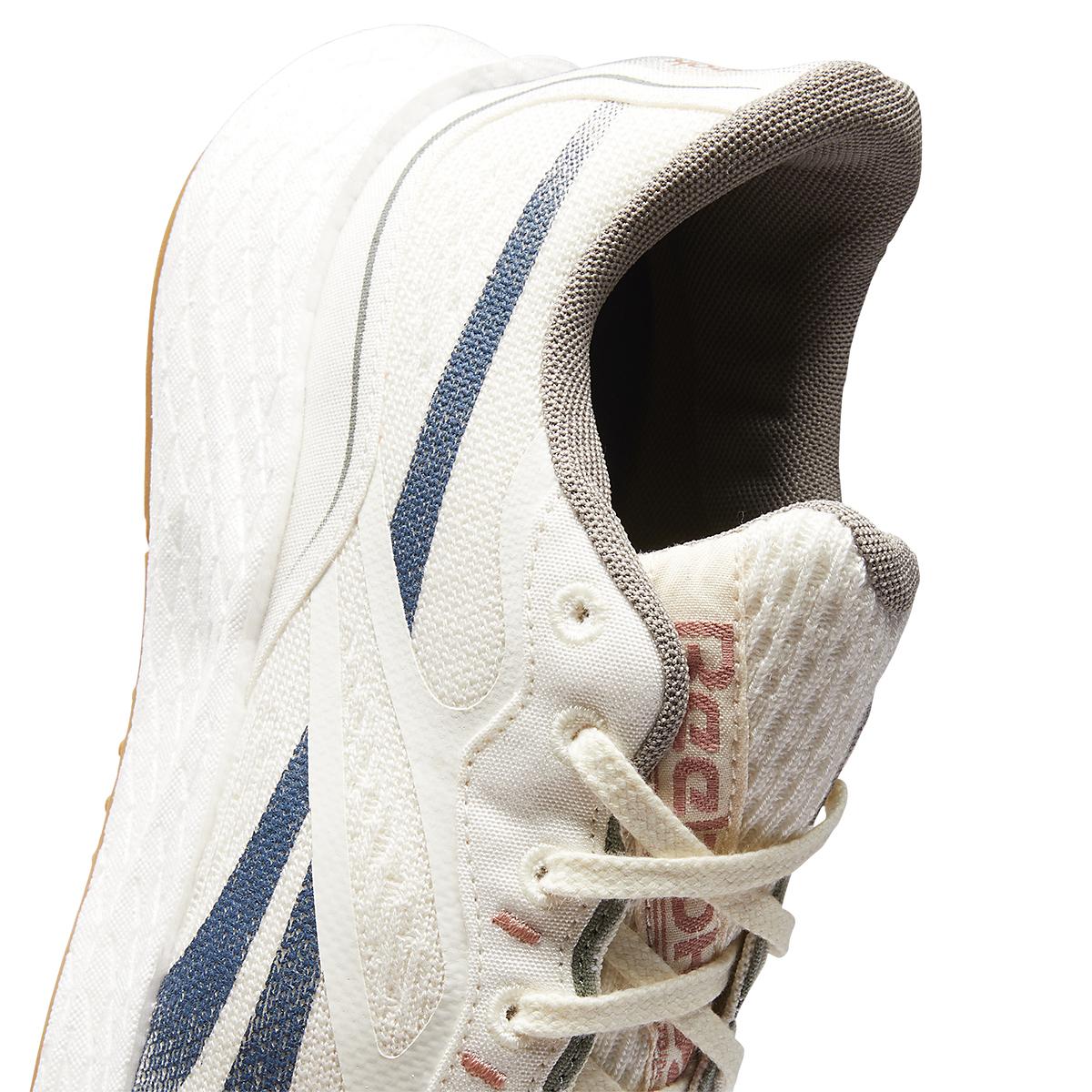Men's Reebok Floatride Energy Grow Running Shoe - Color: Classic White/Brave Blue/Boulder Grey - Size: 7 - Width: Regular, Classic White/Brave Blue/Boulder Grey, large, image 4