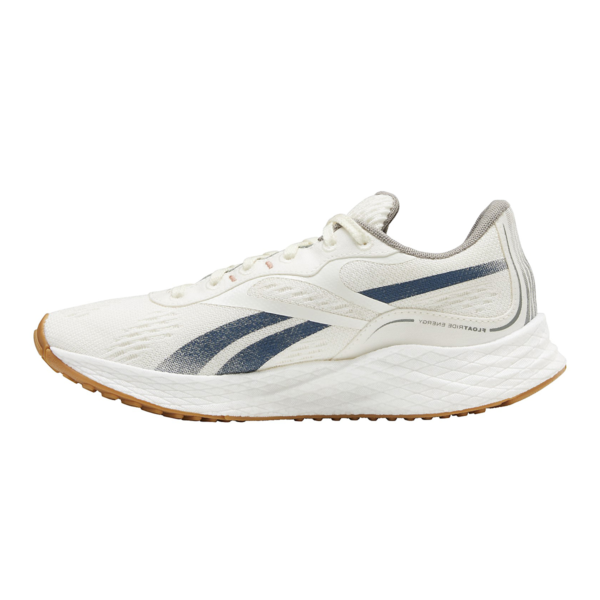 Women's Reebok Floatride Energy Grow Running Shoe - Color: Classic White/Brave Blue/Boulder Grey - Size: 5 - Width: Regular, Classic White/Brave Blue/Boulder Grey, large, image 2