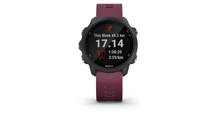 Garmin Forerunner 245 - Color: Berry, Berry, large, image 5