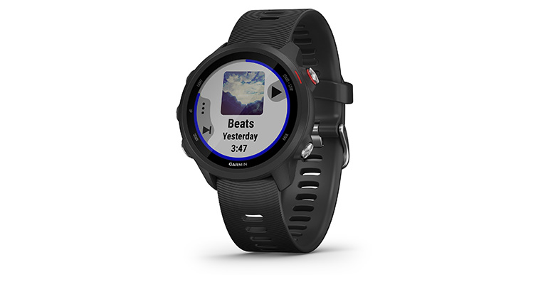 Garmin Forerunner 245 Music - Color: Black, Black, large, image 1