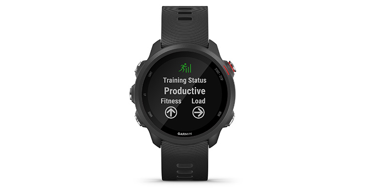 Garmin Forerunner 245 Music - Color: Black, Black, large, image 2
