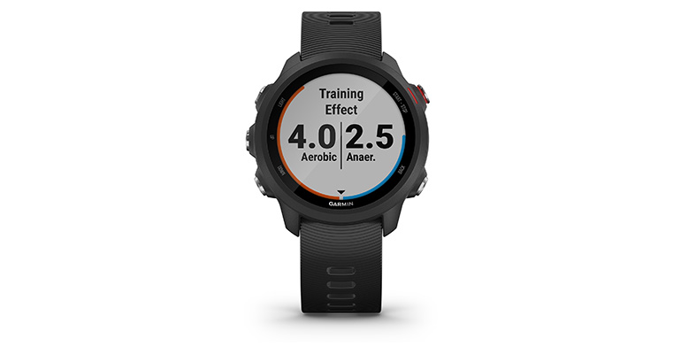 Garmin Forerunner 245 Music - Color: Black, Black, large, image 4