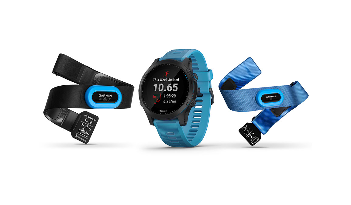 Garmin Forerunner 945 - Bundle - Color: Blue and Slate, Blue and Slate, large, image 1