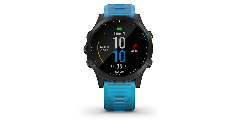 Garmin Forerunner 945 - Bundle - Color: Blue and Slate, Blue and Slate, large, image 2