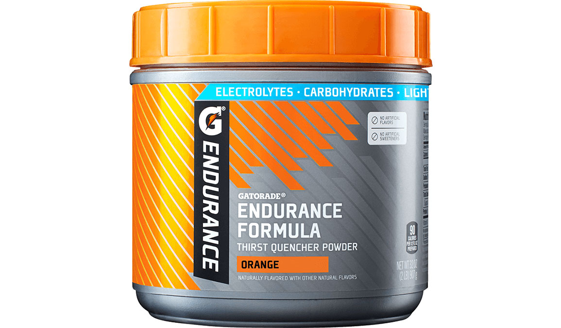 Gatorade Endurance Thirst Quencher Powder - Canister - Flavor: Orange - Size: 32oz, Orange, large, image 1